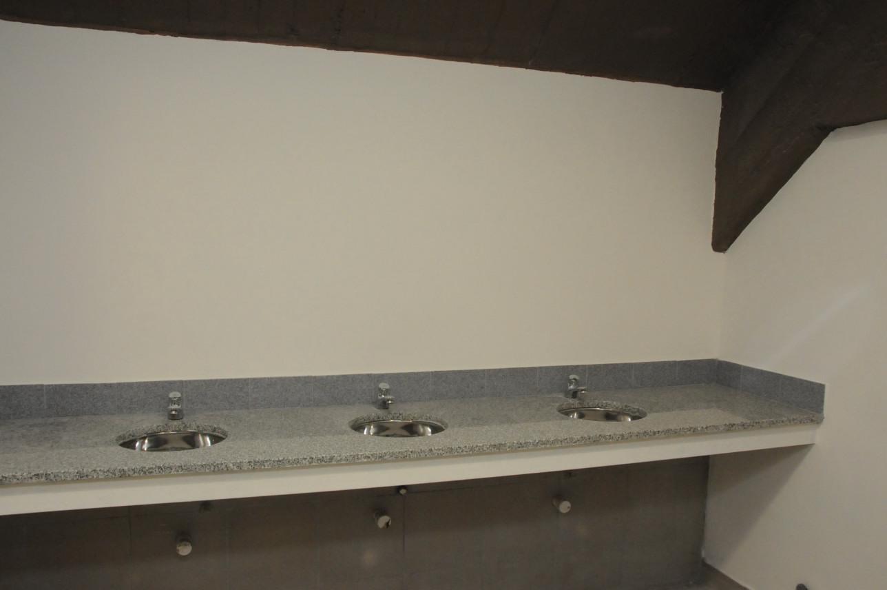 lavatorios camerinos