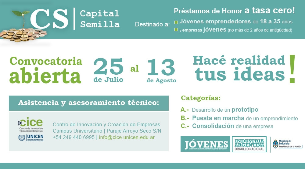 Convocatoria Programa Capital Semilla 2013