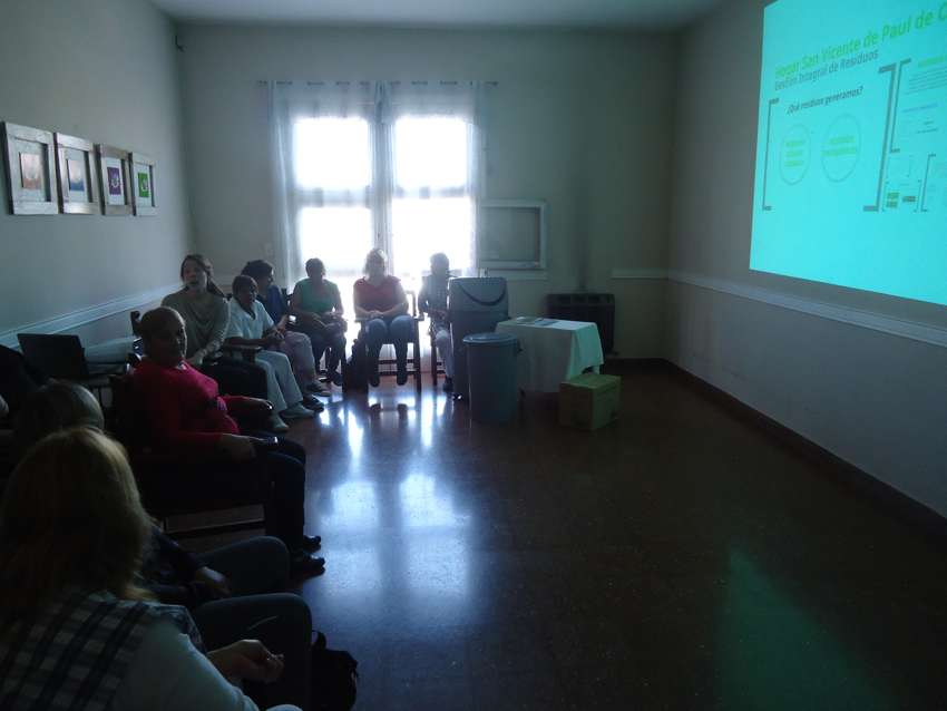 Act Capacitacion Gestion de Residuos - oct 2014