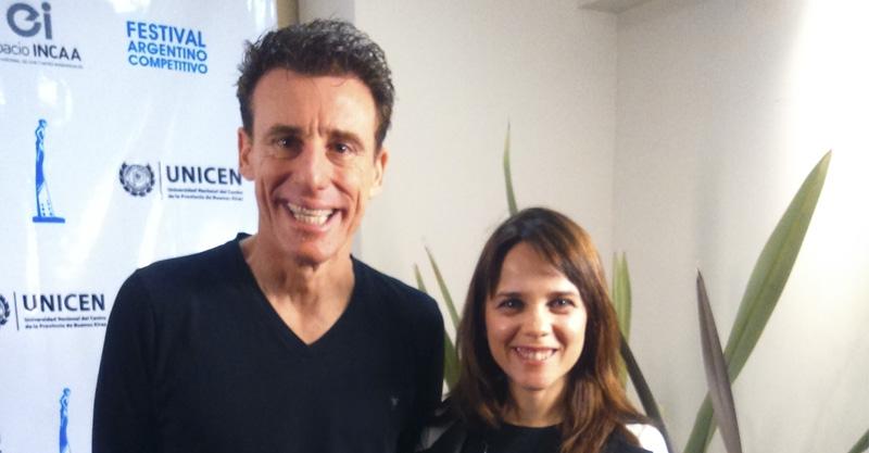 Valeria Britos y Lionel Campoy  participaron del Tandil Cine
