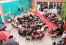 Inauguró la Universidad el reciclado del Patio Gardeliano