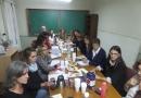 Reunión por protocolo contra la violencia de género