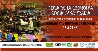 Feria de Economía Social, el fin de semana