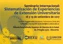 Seminario de extensión universitaria en Olavarría