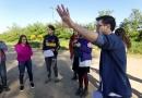 Trabajo articulado de la UNICEN y estudiantes de Cerro Leones
