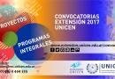 Proyectos aprobados de la Convocatoria 2017