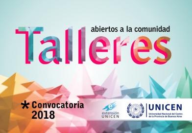 Extensión lanza convocatoria a propuestas de talleres 2018