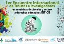 Encuentro internacional sobre cárceles y derechos educativos