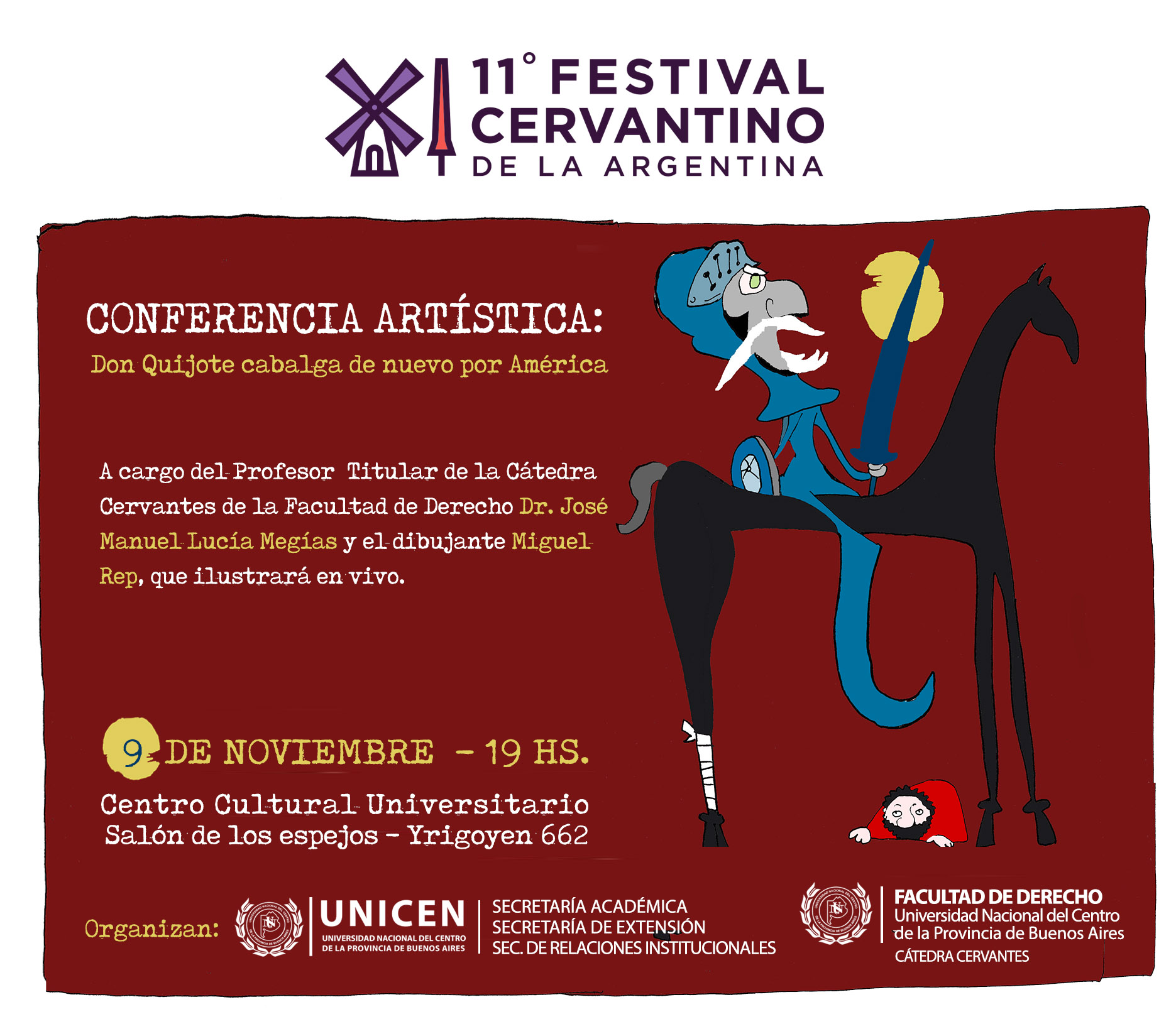 conferencia Don quijote cabalga . Definitiva 2017