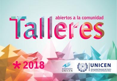 Extensión UNICEN abrirá 27 talleres para el ciclo 2018