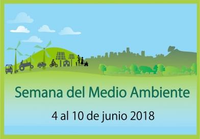Agenda Semana del Medio Ambiente 2018