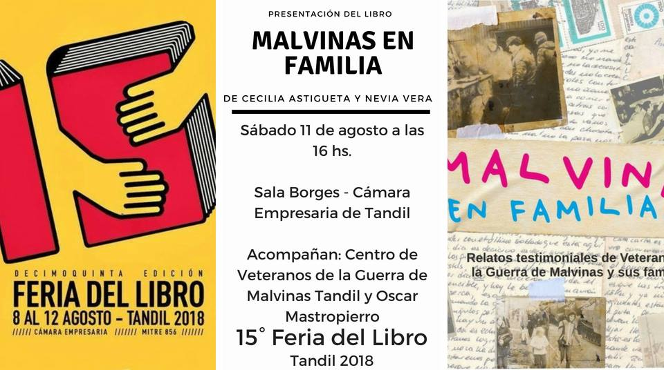 El libro Malvinas en Familia se presenta en la Feria | Secretaría de ...