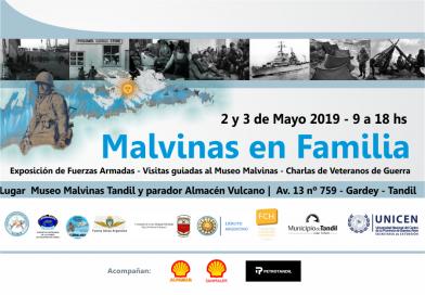 Actos por Malvinas en Gardey
