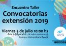 Encuentro taller: Convocatorias de Extensión 2019
