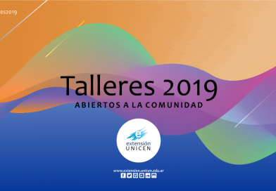 Inscriben en Talleres Abiertos de la UNICEN