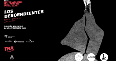 Presentación Accesible de la obra «Los Descendientes», de Julia Lavatelli