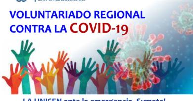 Unicen pone en marcha Red Regional de Voluntariado Universitario: COVID-19