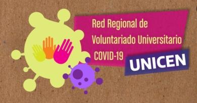 Red de Voluntarios de UNICEN ante la emergencia sanitaria