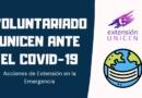 Voluntariado UNICEN ante el Covid-19