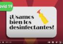 Video: ¿Usamos bien los desinfectantes?
