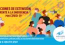 UNICEN lanza nueva convocatoria a acciones de extensión frente a la pandemia