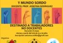 Lengua de señas argentinas y mundo sordo