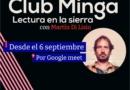 Llega Club Minga, un espacio de lectura compartida
